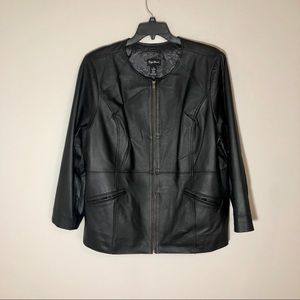 Maggie Barnes Leather Jacket